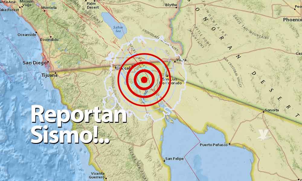 Reportan sismo de 4.5 en Mexicali