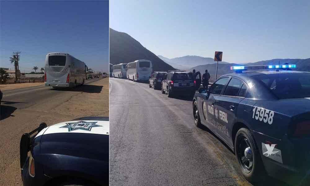 Arriban 130 elementos de Policía Federal; habrá operativos en Tecate y Tijuana