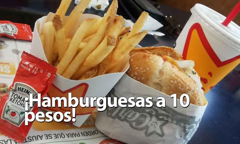 Carl´s Jr ofrece hamburguesas a 10 pesos para estudiantes de UABC