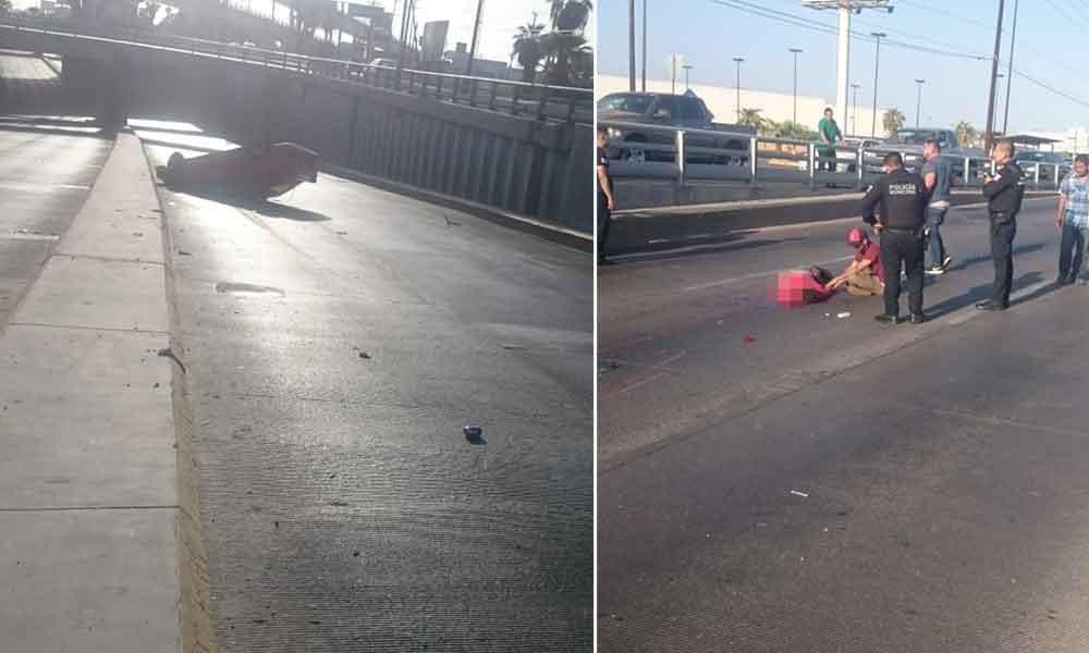 Joven muere tras fatal volcadura en Mexicali; no traía cinturón de seguridad