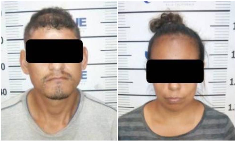 Vinculan a proceso a pareja tras cometer robo con violencia en Tijuana