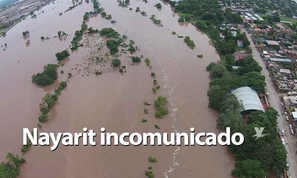 """Nayarit incomunicado tras huracán """"Willa""""; urge ayuda humanitaria"""
