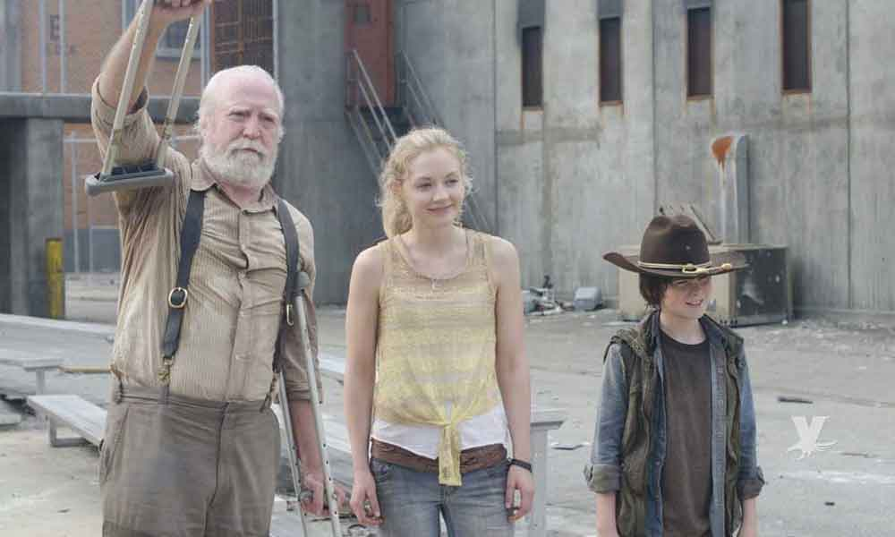 "Muere actor de la famosa serie ""The Walking dead"""