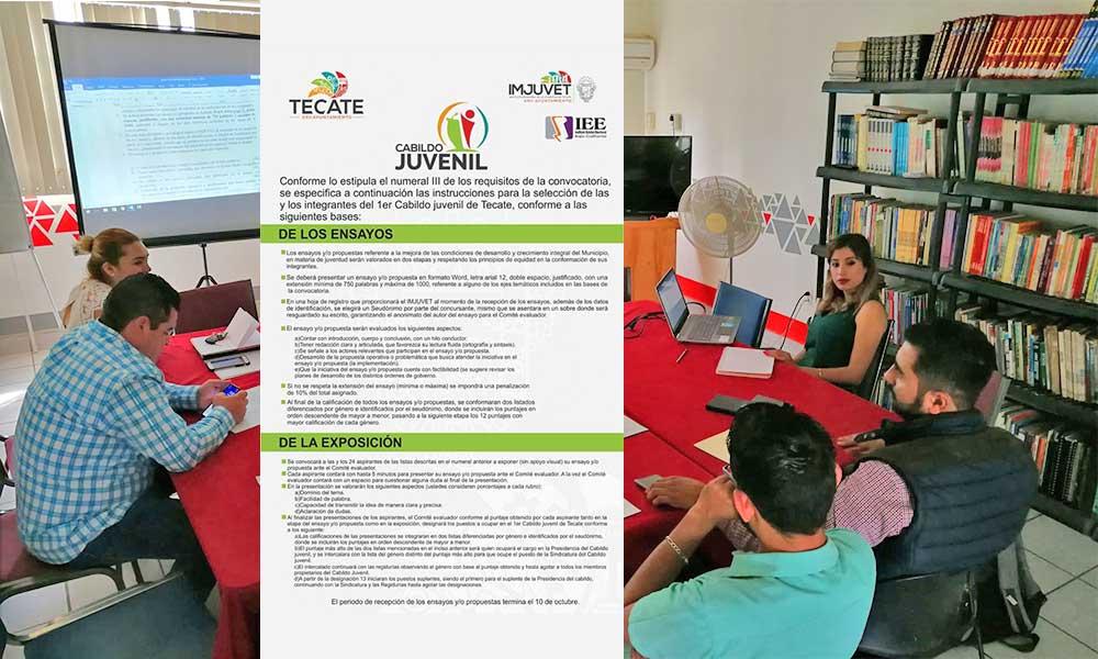 Jóvenes de Tecate tienen hasta el 10 de octubre para formar parte del Cabildo Juvenil: Regidora Diana Vázquez