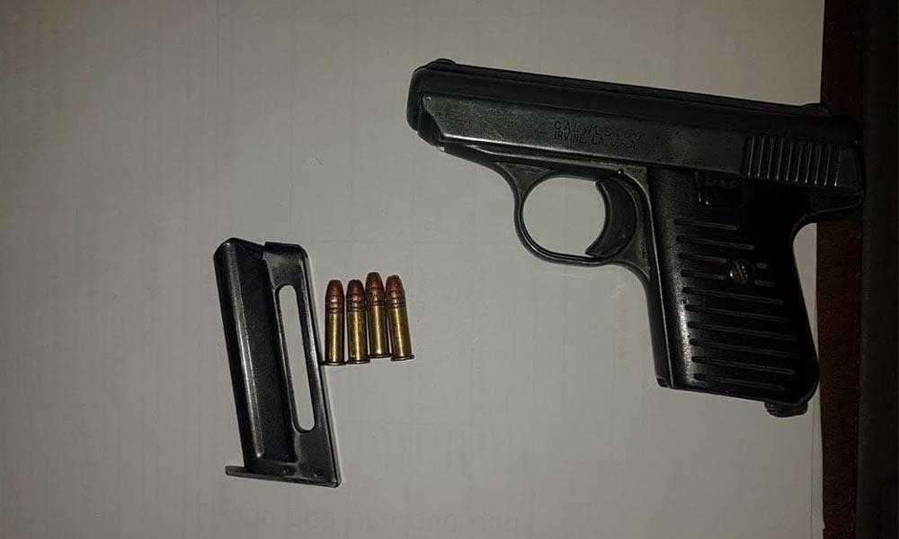Capturan a sujeto estadounidense en posesión de arma de fuego en Tijuana