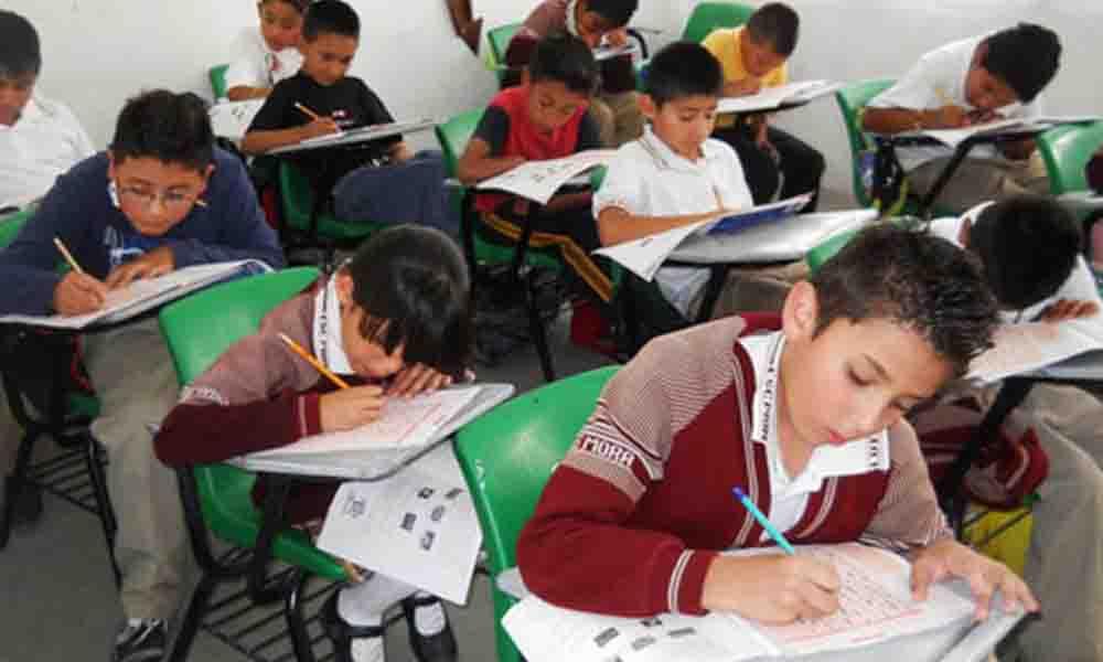 "Causa molestia aplicación de examen ""inadecuado"" para niños en Playas de Rosarito"