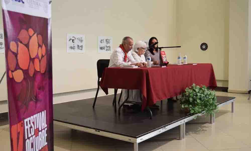 """Concepción Vizcarra abarrota CEART Tecate con presentación del libro """"Una sinaloense en la historia de Tecate"""""""