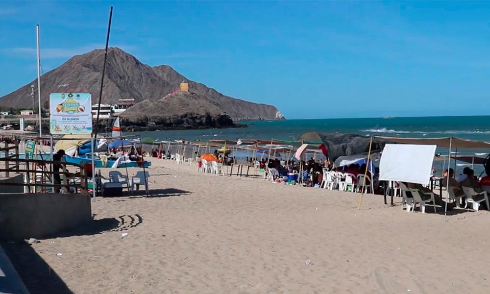 Declaran la Playa del Malecón de San Felipe apta y segura para  su uso