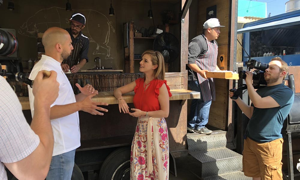 Destaca auge culinario de Baja California, aparecerá en programa de televisión