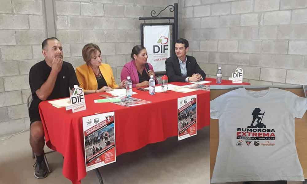 """DIF Tecate y Club Kuchuma invitan al """"Ascenso Nocturno Rumorosa Extrema 2018"""""""