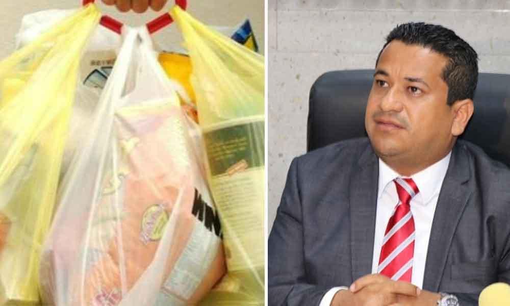 Analizan en el Congreso la prohibición del uso de bolsas no degradables: Diputado Benja Gómez