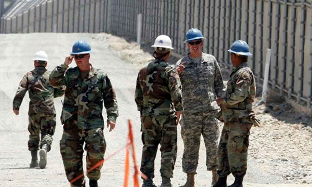 Aprueba EEUU enviar tropas a la frontera con México