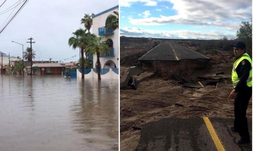 """Emiten recomendaciones de viaje para destinos afectados por """"Rosa"""" en Baja California"""