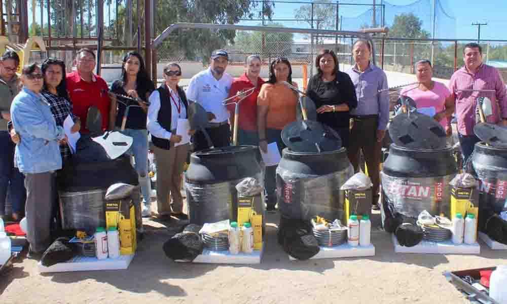 Entregan más de 300 módulos de apoyo en zona rural y urbana de Tecate