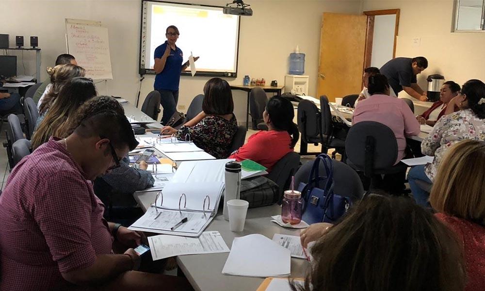 En Tecate escuelas de tiempo completo reciben capacitación sobre Protección Civil