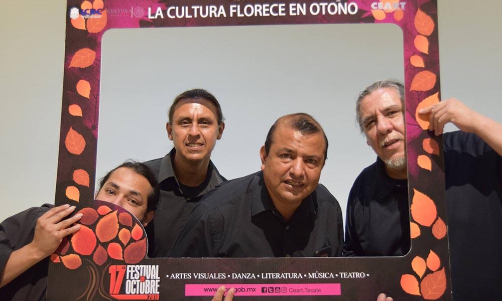 """Exitoso arranque del 17o """"Festival de Octubre 2018"""" en CEART de Tecate"""