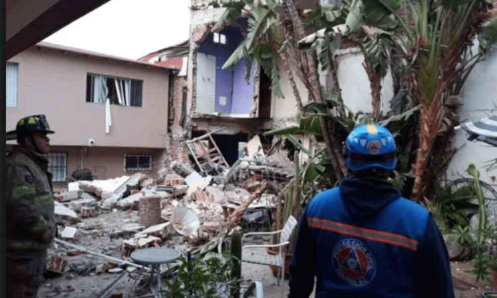Explosión en Tijuana deja saldo de un muerto y tres heridos