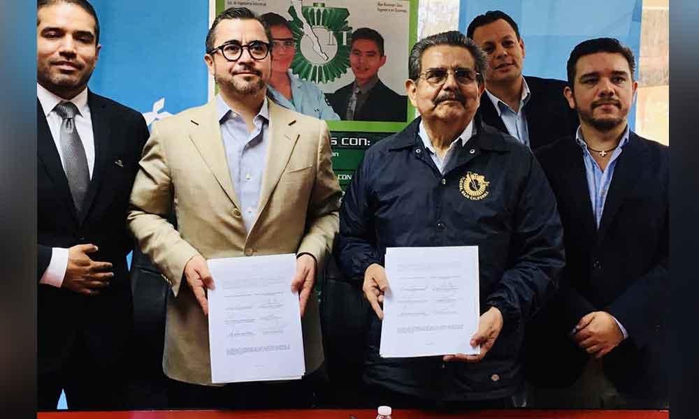Firman ITT y OCCMundial convenio para ampliar oportunidades de empleo a estudiantes y egresados