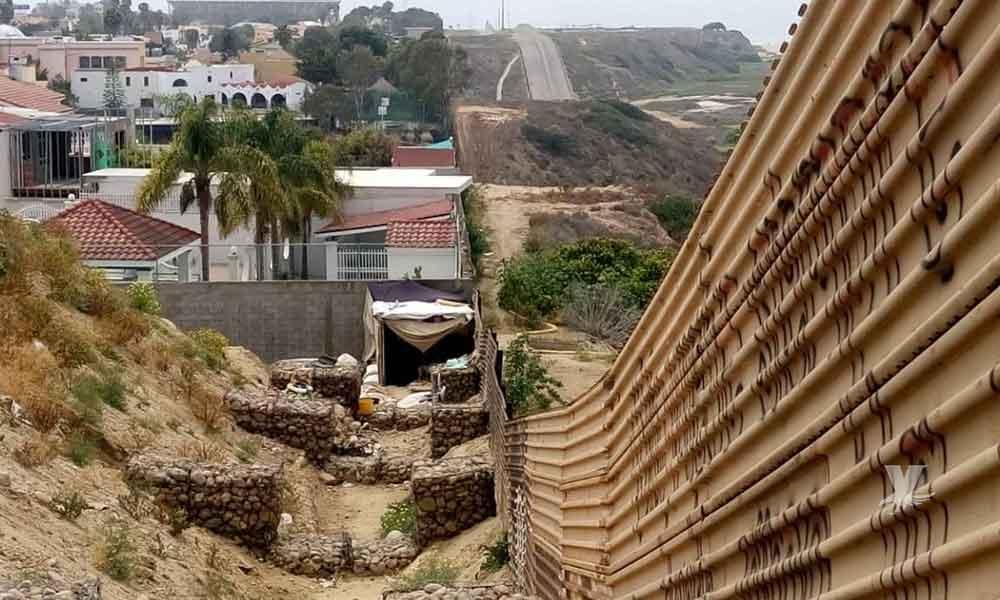 Estados Unidos continuará la construcción del muro y derribará construcciones invasoras en Playas de Tijuana