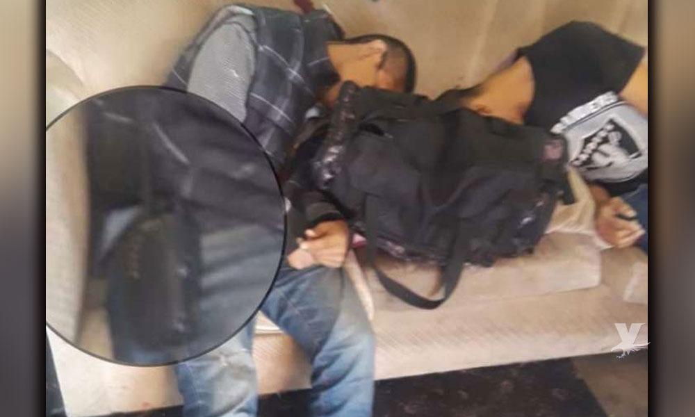 """Dos """"halcones"""" al servicio de sicarios son encontrados ejecutados en vivienda de Tijuana"""
