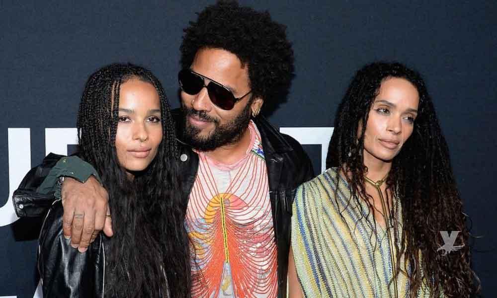 Hija de Lenny Kravitz; Zoë Kravitz se quita la ropa para conocida revista