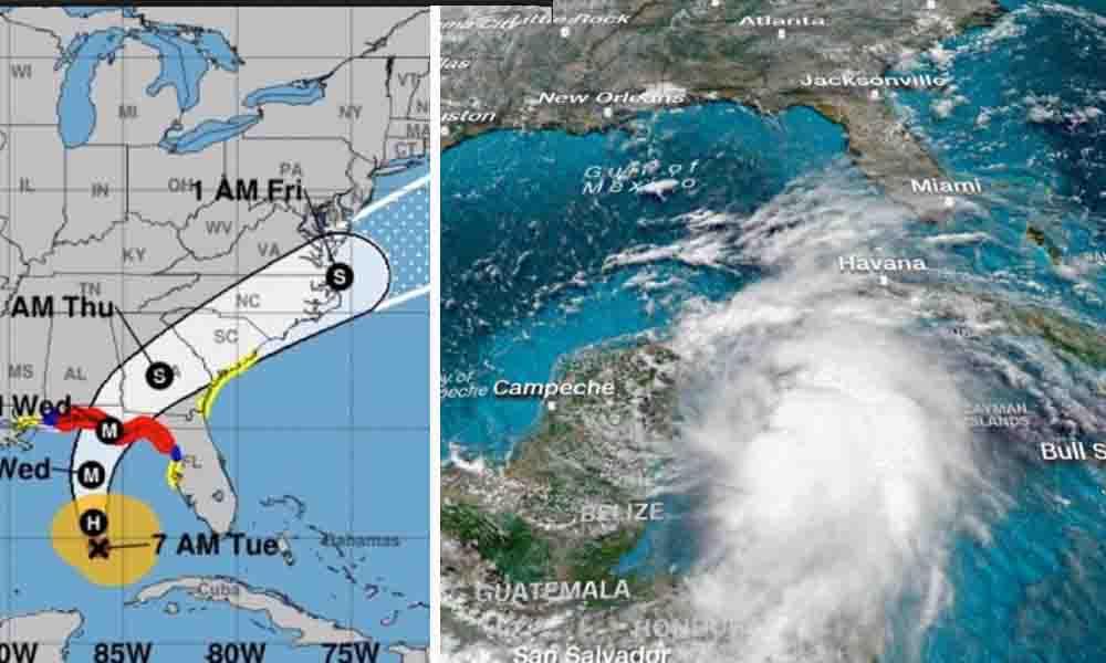"""Aseguran que Huracán """"Michael"""" será el más intenso de la historia en Florida"""
