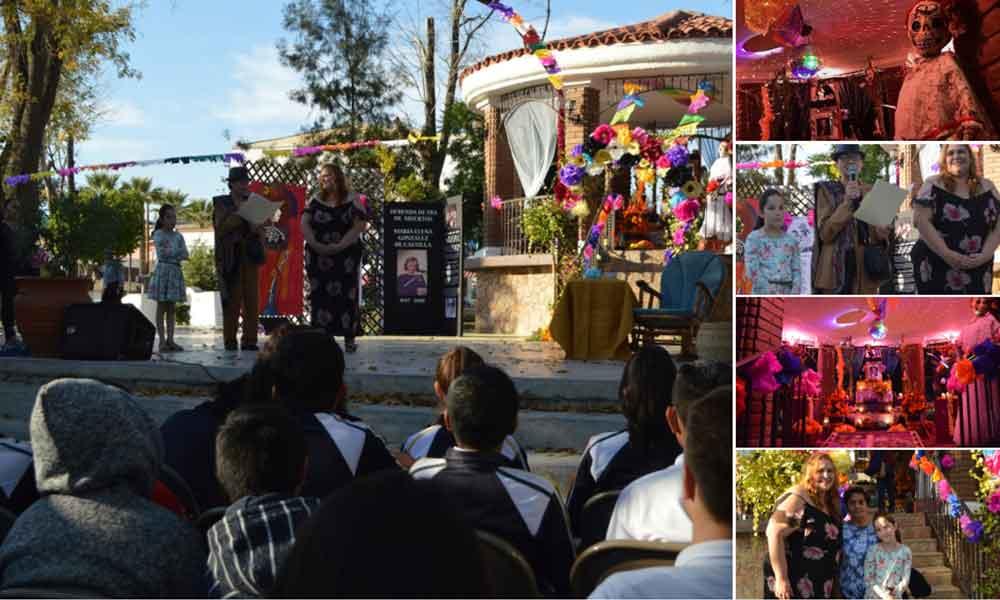 Inaugura ICBC Altar de Día de Muertos en honor a María Elena González de Castilla.