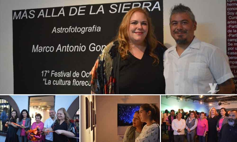"""Inauguraron la exposición de Astrofotografía """"Más allá de la Sierra"""" en ICBC Tecate"""
