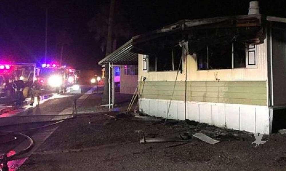 Hombre intentó acabar con un nido de arañas con un lanzallamas y terminó incendiando la casa de sus padres