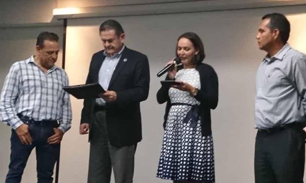Cadetes de la ASPE recibieron conferencia motivacional en Tecate