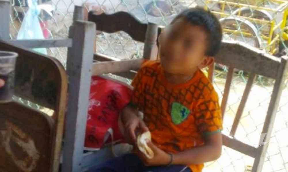 Menor fue abandonado por sus padres a la orilla de la carretera en Yucatán