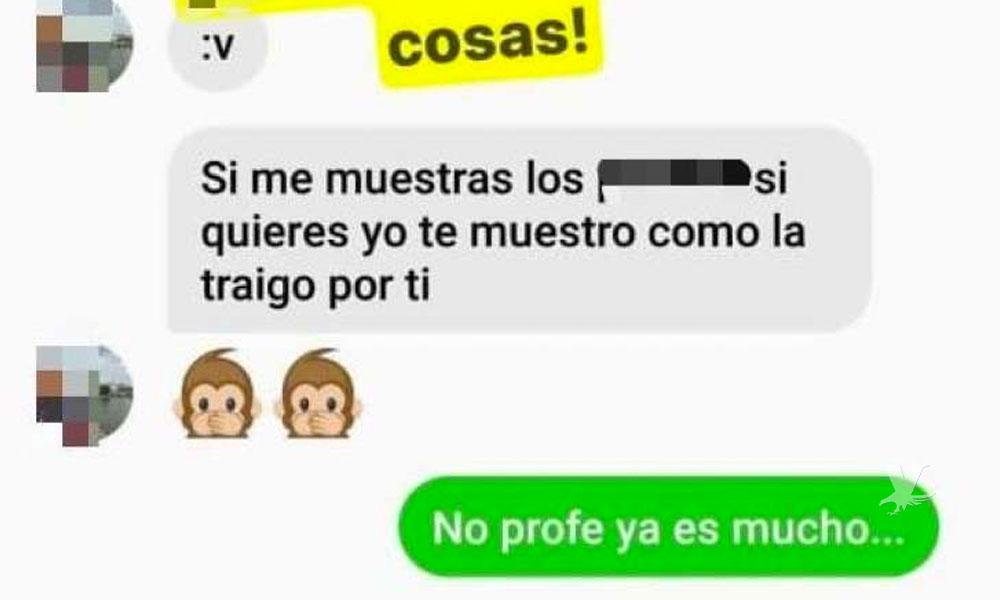 Maestro de secundaria en Tijuana acosa sexualmente a sus alumnas en redes sociales