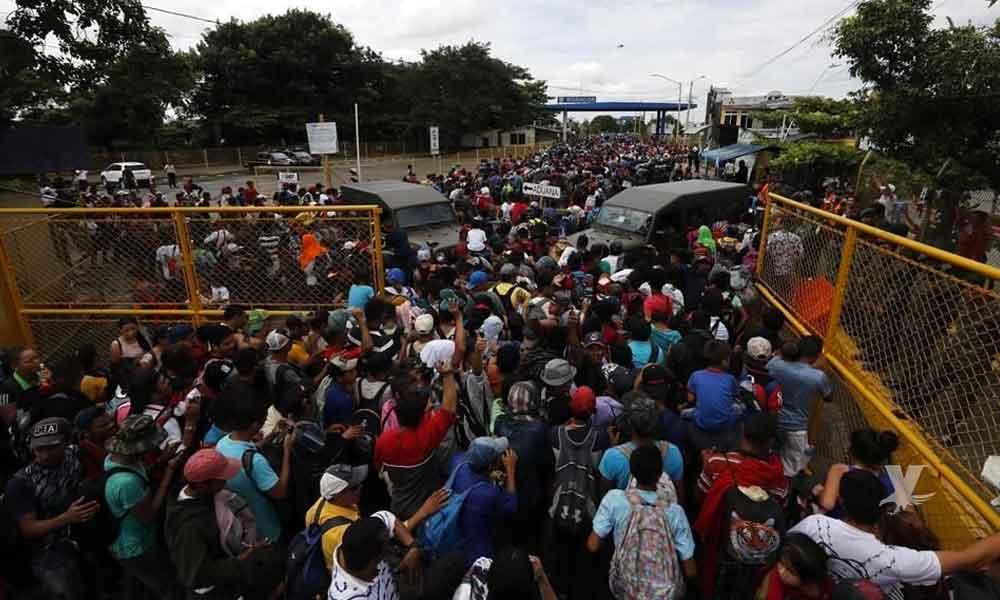 Migrante muere al pelear con Policías Federales intentando ingresar a México