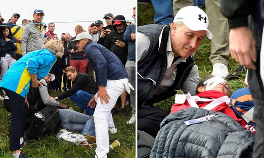 Mujer pierde un ojo en pleno torneo de golf