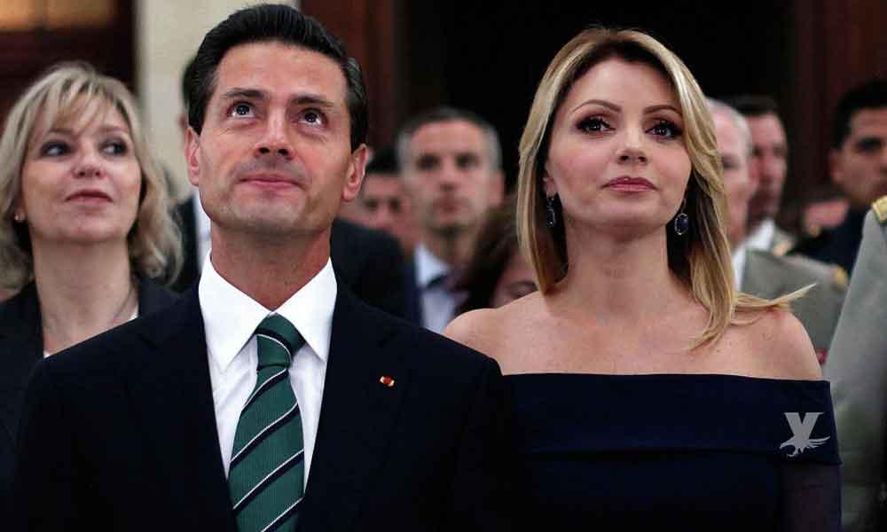 Termina el sexenio y también el matrimonio entre Angélica Rivera y Peña Nieto