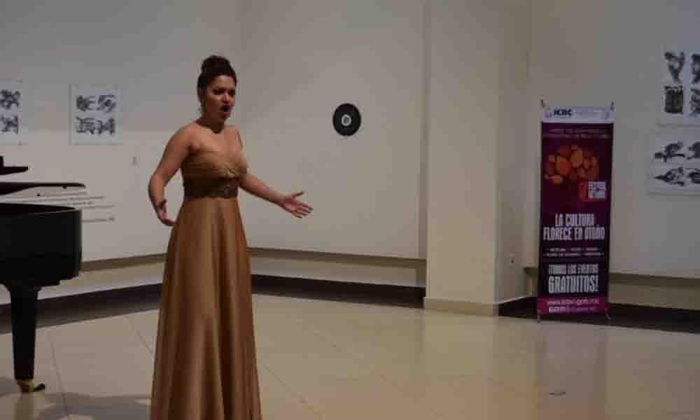 """Presentó CEART """"Concierto Estudio de Ópera de Bellas Artes"""" en Tecate"""