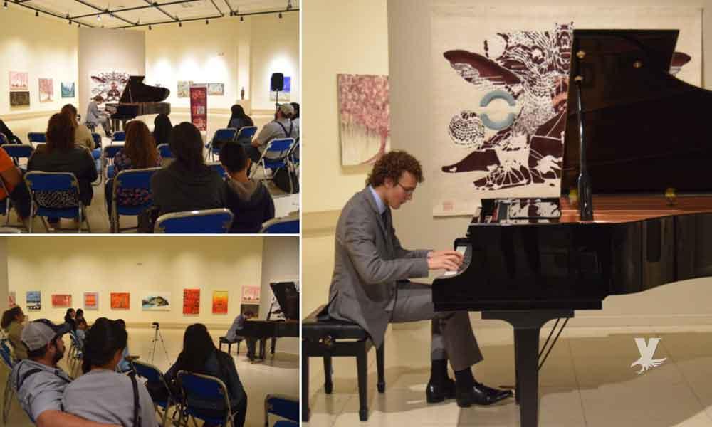 """Presentó CEART Tecate """"Recital de Piano"""" a cargo de Víctor Montiel"""