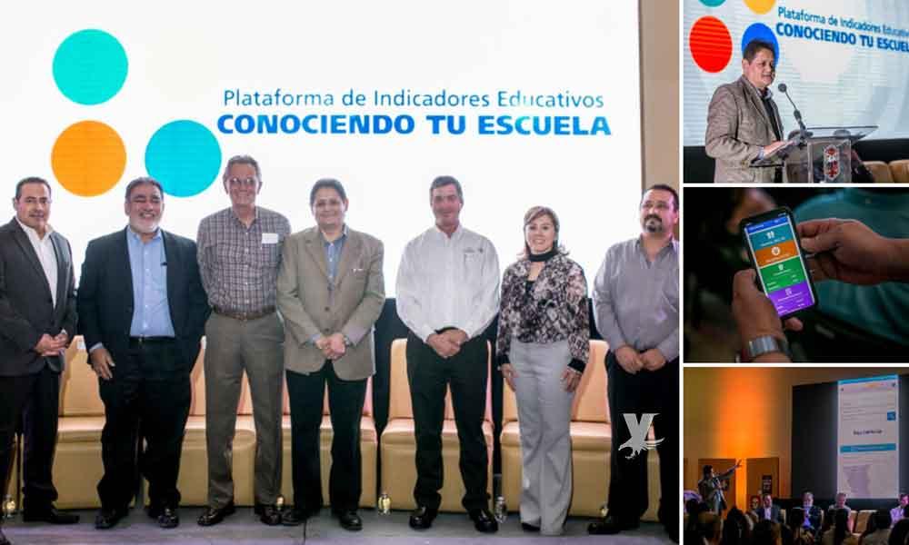 """Presenta SEE plataforma educativa""""Conociendo Tu Escuela""""  en Mexicali"""