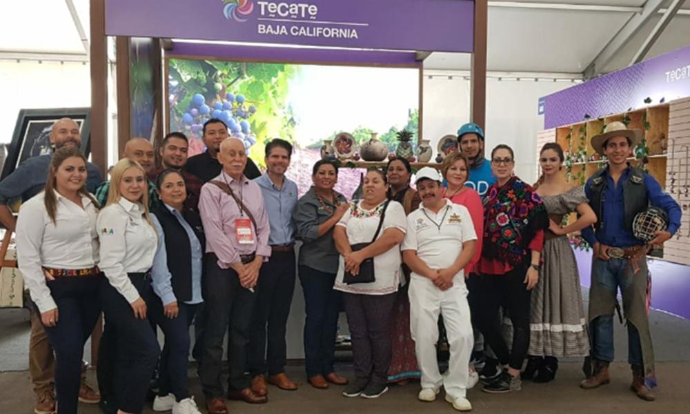 """Promocionan a Tecate en la """"5ta Feria Nacional de Pueblos Mágicos"""" en Michoacán"""