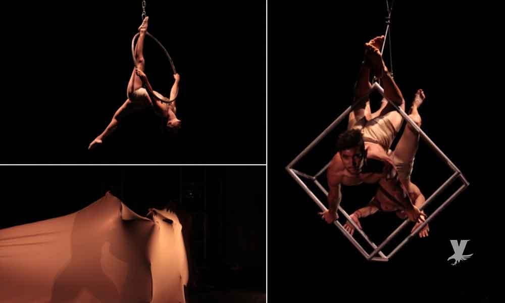 Presentó CEART Tecate, el nuevo espectáculo a cargo del grupo Bruckers Training and Circus