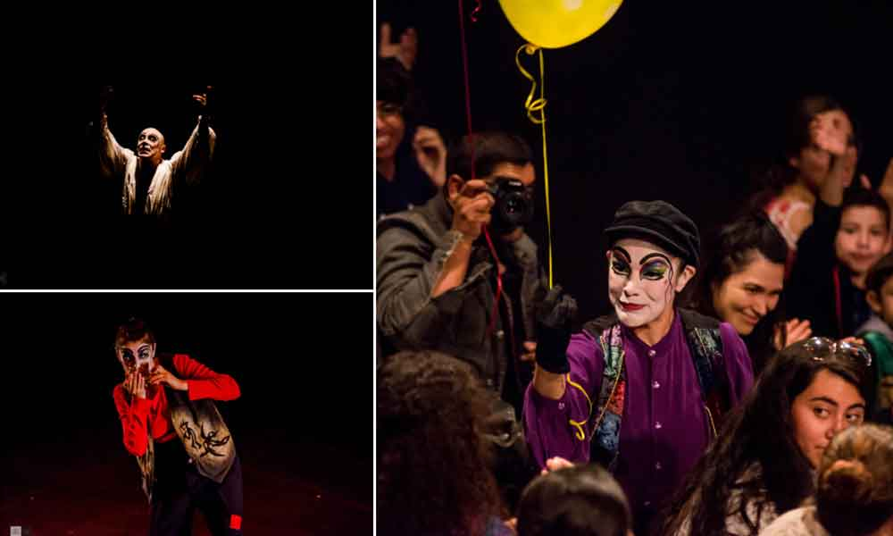 """Presentó CEART Tecate el espectáculo de pantomima """"A Reír con el Silencio""""con la compañía Mimus Circus"""