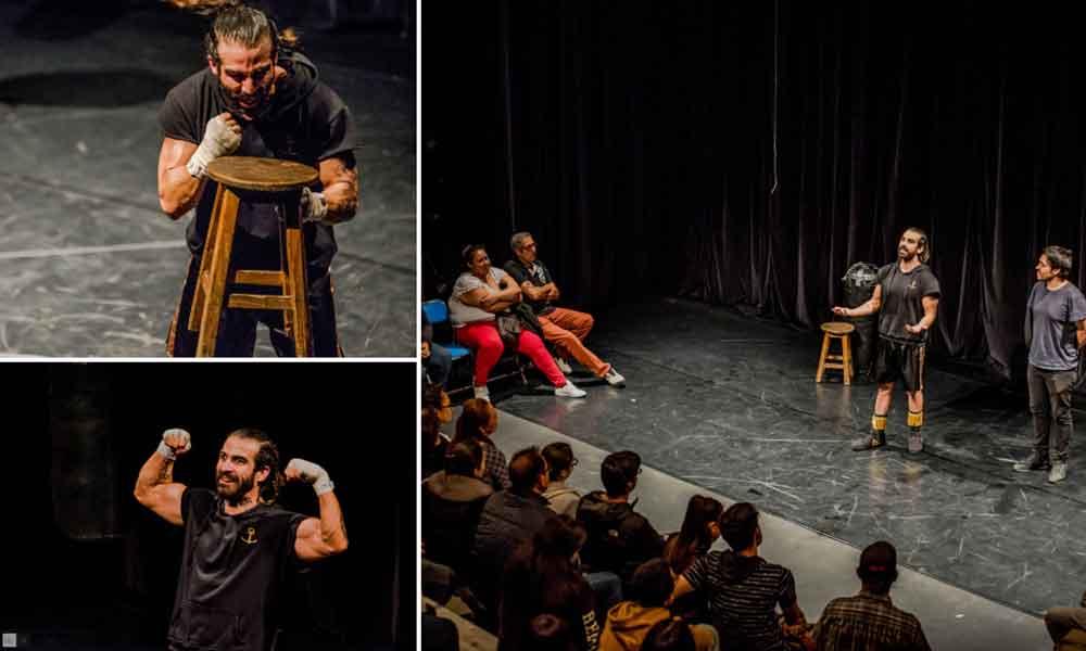 """En el marco del 17° Festival de Octubre ICBC presentó el monologo """"Encuentro"""" en Tecate"""