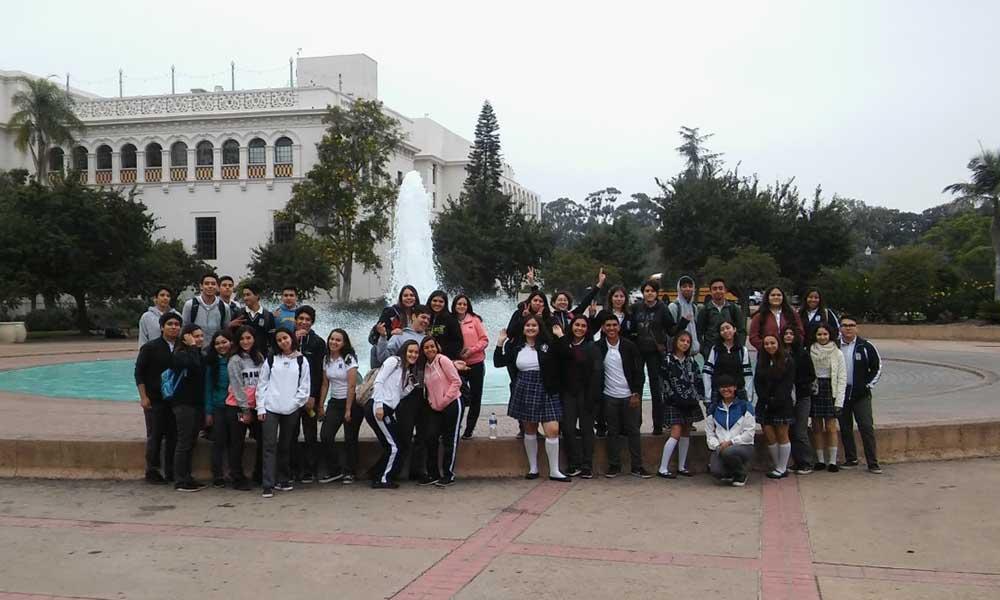 Realizan primer Recorrido Binacional ICBC y alumnos del COBACH de Tecate