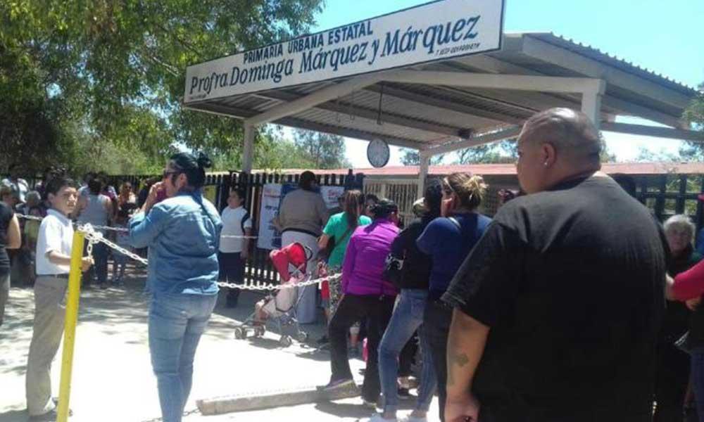 En Tijuana, escuelas reducen horario escolar por falta de agua
