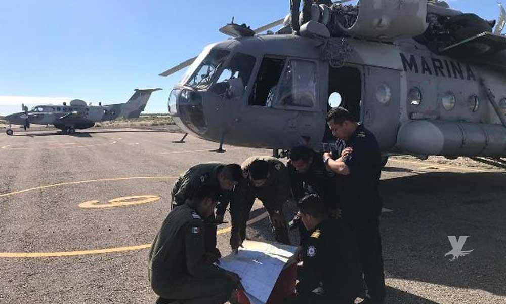 Recuperan cadáver del marino desaparecido tras caída de helicóptero