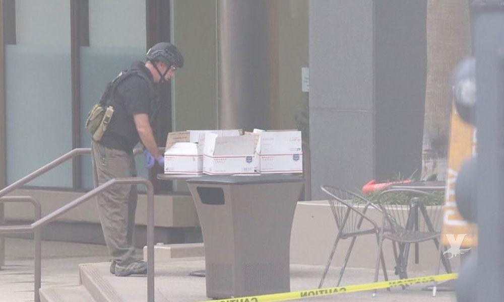 Evacuaron oficinas del periódico San Diego Union-Tribune por paquetes de correo sospechosos