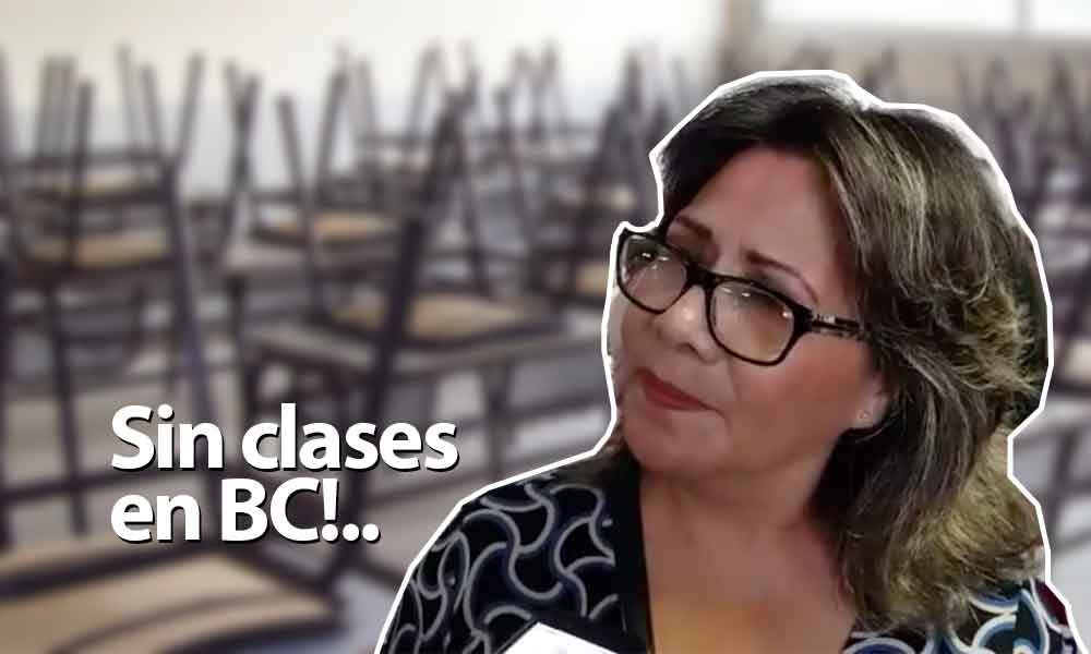 No habrá clases mañana en Baja California, docentes del SNTE se manifestarán en Mexicali