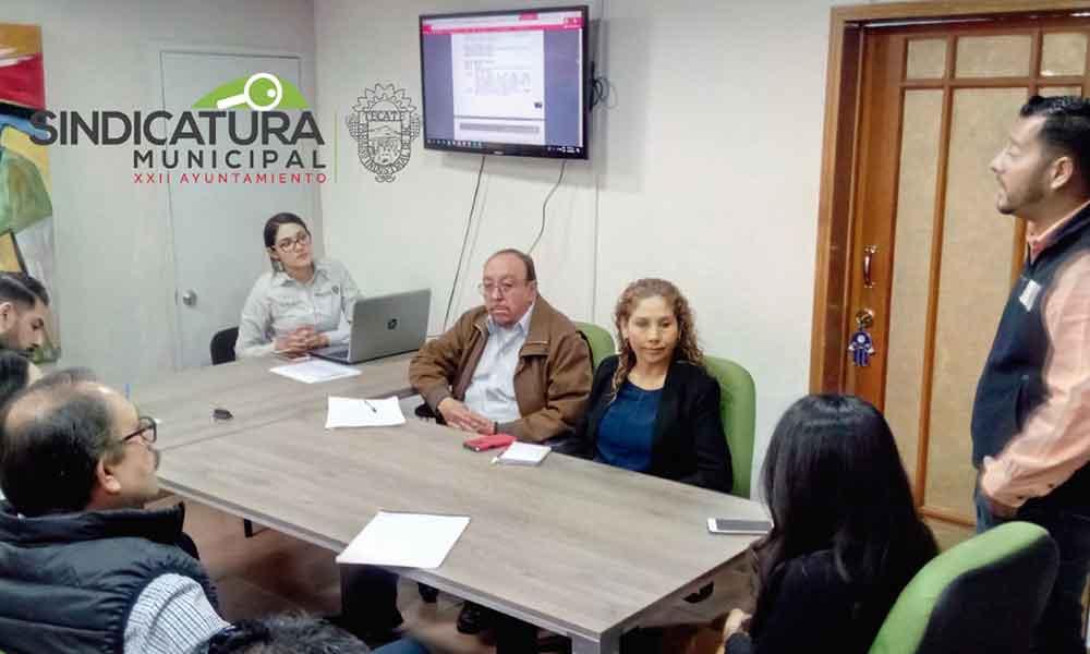 Sindicatura Municipal de Tecate presenta resultados de la evaluación de Transparencia vigentes en el Estado