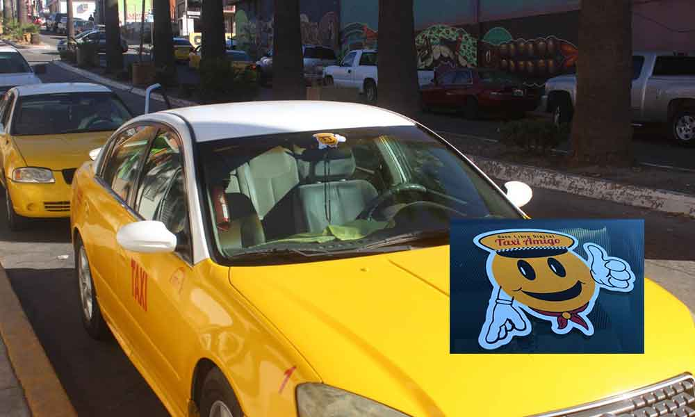 "Taxis amarillos de Tecate ponen a disposición de usuarios la aplicación ""Taxi Amigo"""