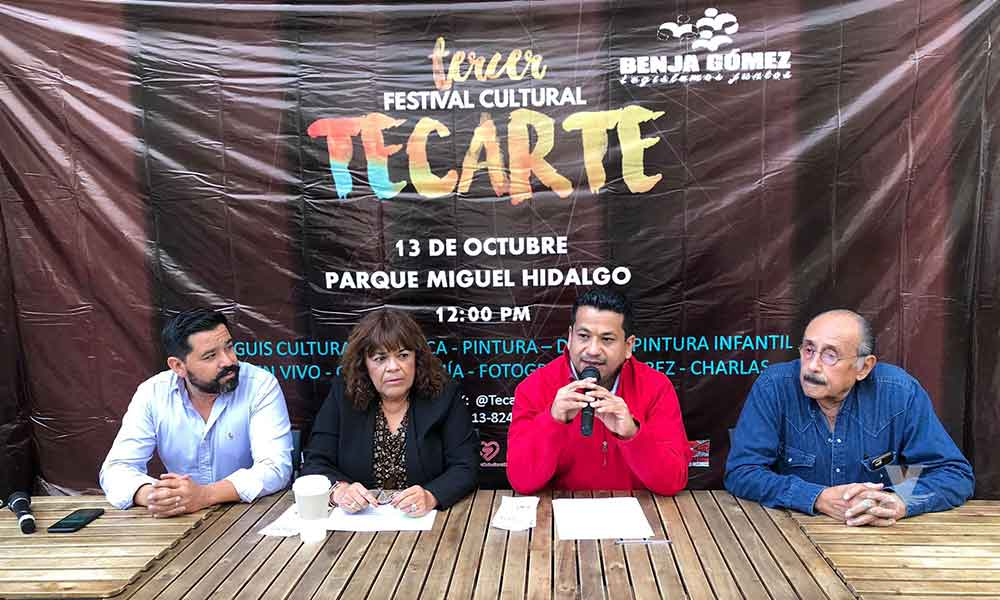 """Presentan la Tercera Edición del """"Festival de Arte y Cultura TECARTE 2018"""" impulsada por el Diputado Benjamín Gómez"""
